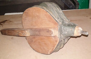Antique or Vintage wood stove fireplace blower