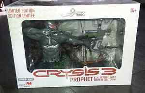 """Crysis 3 Polystone Prophet 5"""" Bust et  limited édition on 10 000"""