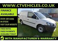 2015 15 Volkswagen Caddy 1.6TDI 102bhp Electric windows, Diesel, Startline,