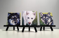 Trio of MINI Pet Portraits