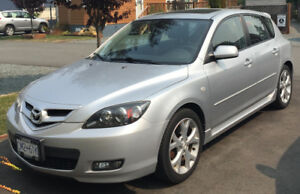 2008 Mazda 3 GT with Low Milage