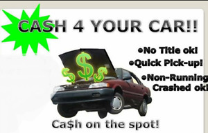 USED OLD SCRAP JUNK DAMAGED CAR TRUCK VEHICLE BUYER REMOVAL CASH