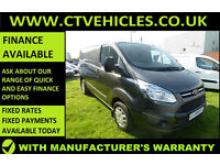2015 65 Ford Transit Custom 2.2TDCi 125PS 290 L1H1 Trend cruise control b/tooth
