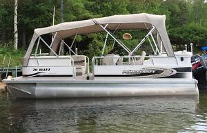 Bateau ponton 20 pieds ,Pontoon Boat,Princecraft Vantage