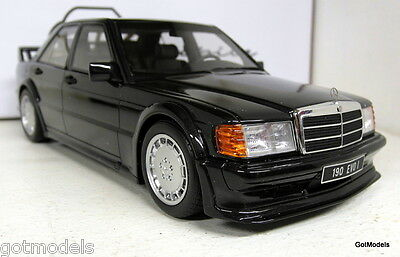 Otto 1/18 Scale OT151 Mercedes Benz 190 Evo 1 metallic blac Resin cast Model Car