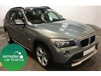 £234.892 PER MONTH GREY 2011 BMW X1 2.0 SE ESTATE DIESEL MANUAL