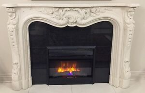 Cast Stone Fireplace Mantle