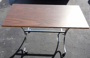 Wooden console table sofa table London Ontario image 2