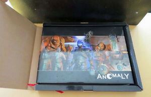 ANOMALY SIGNED LIMITED EDITION HARD COVER BOOK London Ontario image 1