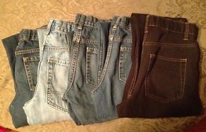 5 pairs of boys jeans sz 14.
