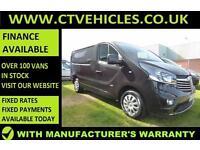 2016 16 Vauxhall Vivaro 1.6CDTi 120PS BiTurbo Sportive 2700 ecoFLEX A/C SWB