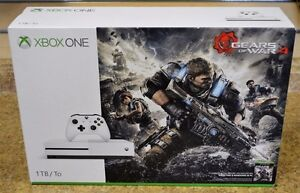 1TB Xbox One S Gears of War 4 bundle- very new condition