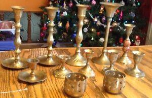 Vintage 12 acticles en brass fait à la main Gatineau Ottawa / Gatineau Area image 5