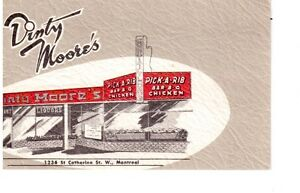 Carte postale ancienne Restaurant Dinty Moore's