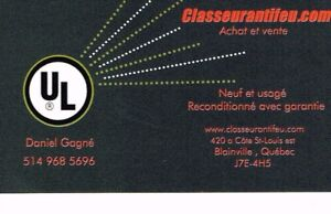 CLASSEUR ANTI FEU . COM   -  (Garantie d un an /  UL 1 hre.