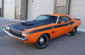 Looking for 1970 this car 1970 Challenger T/A