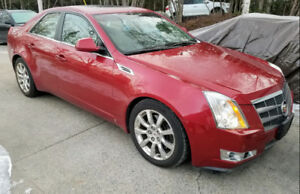 2008 CADILLAC CTS 4 ALL WHEEL DRIVE  LOW KMS!