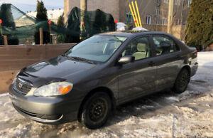 2007 Toyota Corolla - BAS MILEAGE
