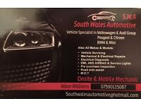Mechanic Specialist in VW AUDI SEAT SKODA BMW MINI PEUGEOT CITROEN + other makes and models repairs