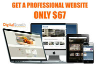 GET A PROFESSIONAL WEBSITE ONLY $67