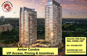 Amber Condos,Grand Park 2(10% Down),Block Nine, Grande Mirage