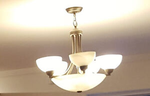 Ceiling Chandelier! LIKE NEW!!!!PERFECT CONDITION!