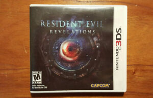 Resident Evil Revelations 3DS first print edition