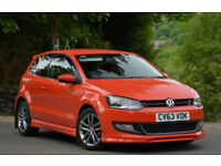 Volkswagen Polo 1.2TDI ( 75ps ) 2014MY Match Edition Red