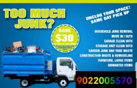 Junk and garbage removal call 902 200 5570