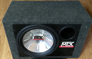 MTX 12 inch subwoofer with MTX box