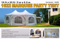 16x22  Marquee Tent for Sale