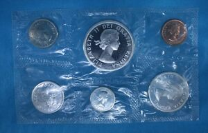 1963 Canadian Mint Coin Set