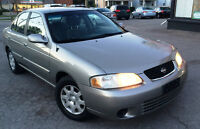 2002 Nissan Sentra GXE, Low Mileage!! Clean CarFax