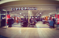 Sales Associate Position at Tip Top Tailors