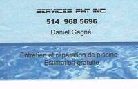 Piscines  Services PHT  inc.  (Fermeture)