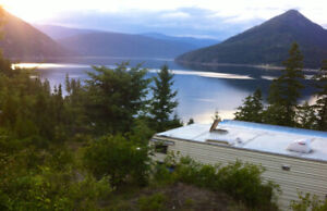 230' lake front property on Lower Arrow Lake BC