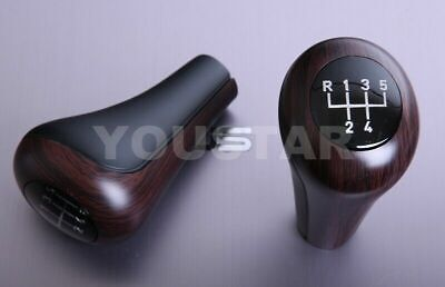 Luxury Dark Wood 5 Speed Manual Gear Knob for BMW 3 5 Series E46 E36 E30 Z3 M3