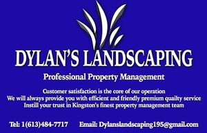 Spring cleanup lawn mowing cutting early booking specials Kingston Kingston Area image 1
