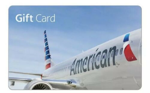 American Airlines Electronic Gift Card - 50 Fast Delivery Read Description  - $48.00