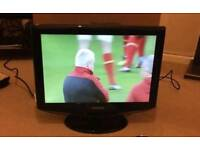 "Samsung 19"" HD LCD TV WITH FREEVIEW"