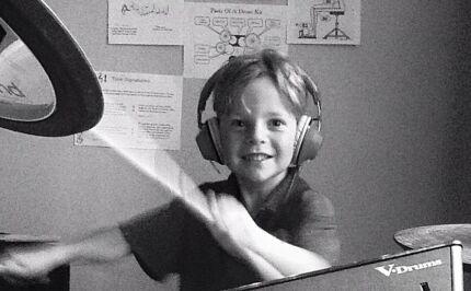 Kids On Drums