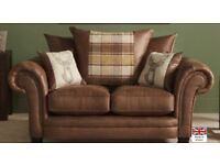 Abbey 2 Seater Sofa Scatter Back