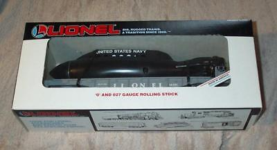 Lionel Trains 6-16351 Flat Car With Operating U.S. Navy Submarine New in box