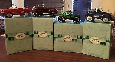 Lot Of 4 Hallmark Kiddie Car Classics Mint in Box