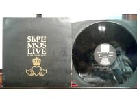 Simple Minds – Live In The City Of Light, VG, double album, released in 1987, 80s Rock Post Punk