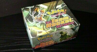 Pokemon Ex Team Rocket Returns - Empty Booster Box - Great condition - No Packs