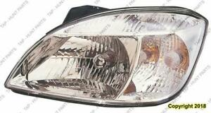 Head Light Driver Side Chrome Bazel (Sedan/Rio 5) High Quality Kia Rio 2009-2011