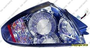 Tail Light Passenger Side 3.8L [Coupe 02/2007-2012] [Conv 2009-2012] [Spyder 2010-2012] High Quality Mitsubishi Eclipse