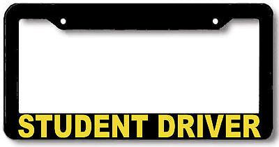 STUDENT DRIVER License Plate Frame