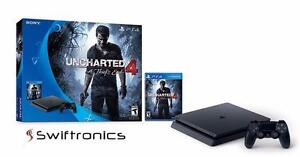Brand New Sony PlayStation 4 500GB Slim Console with Uncharted 4
